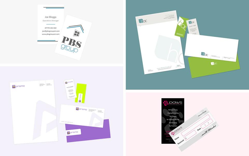 Creating bold custom designed stationery