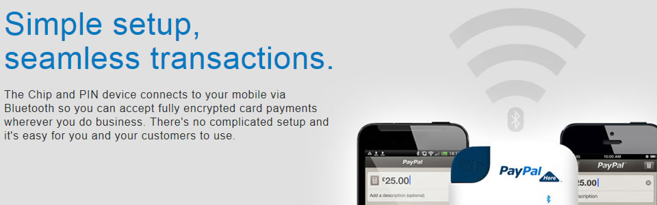 Ecommerce website mobile payments